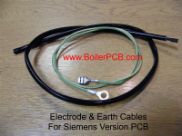 Electrode & Earth Leads for Suprima Boilers with later PCB in Grey Box
